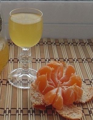 мандарины в водке рецепт