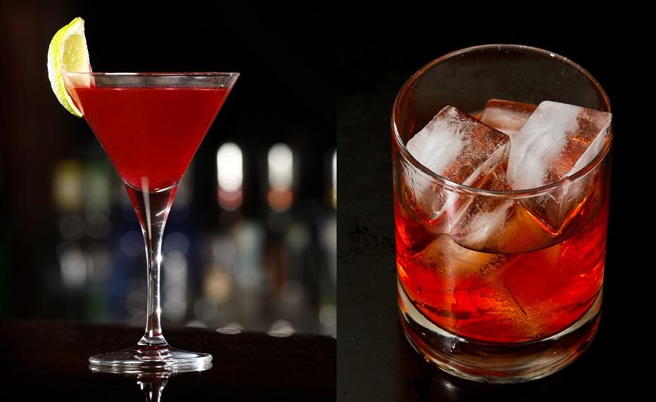 фото бокалов для мартини Россо