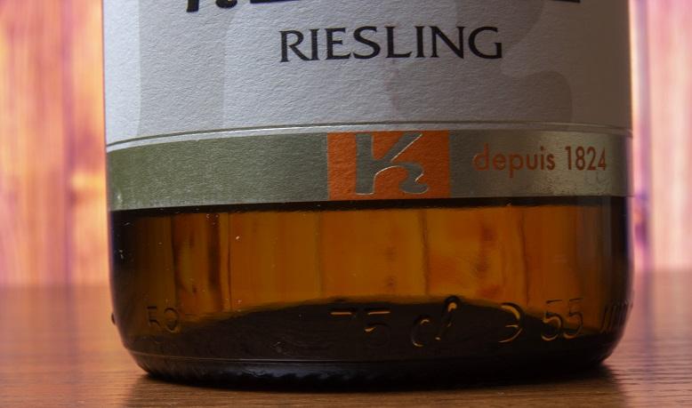 фото этикетки вина Рислинг