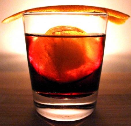 фото коктейля негрони