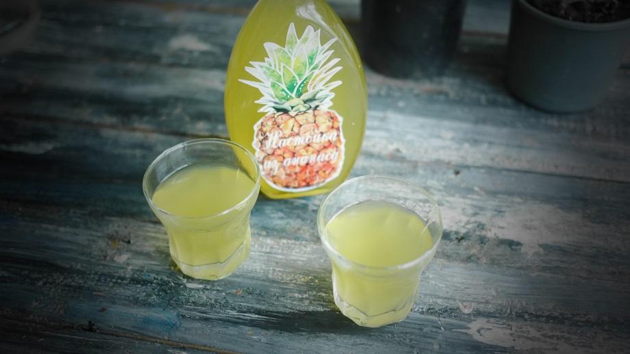 фото настойки ананаса на водке