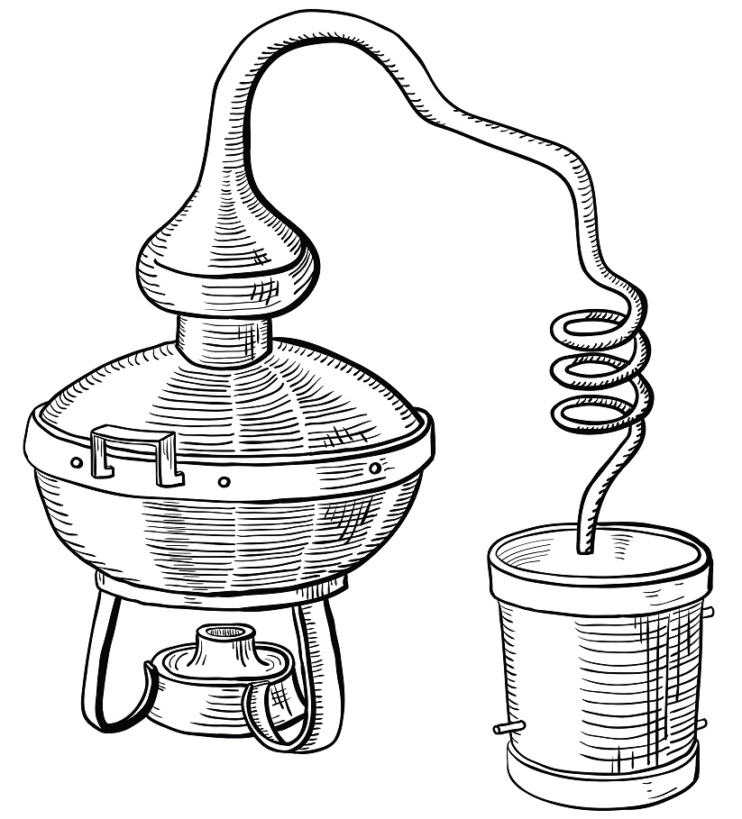 фото усовершенствованного аламбика для виски