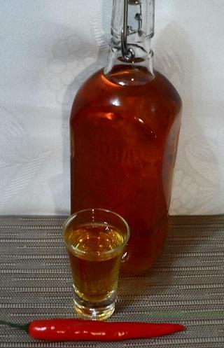 мед перец водка рецепт приготовления