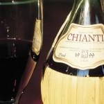 фото вин кьянти в бутылке