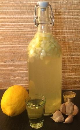 настойка чеснока и лимона от холестерина