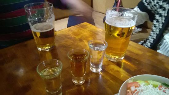 ракия с пивом