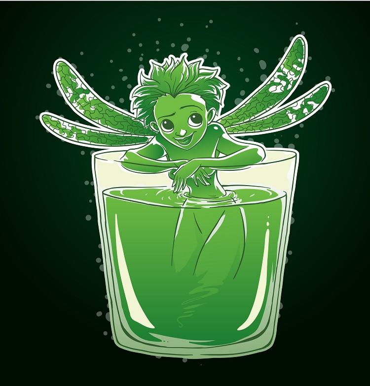 фото зеленой феи абсента