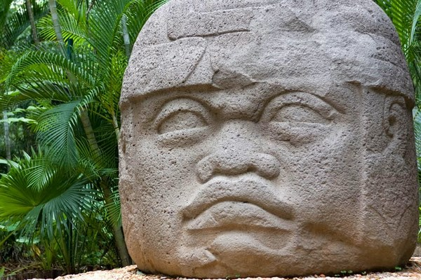 фото индейца-ольмека