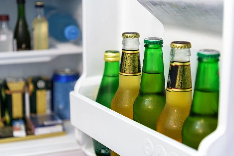 хранение пива в холодильнике