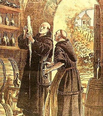 фото вина в монастырях