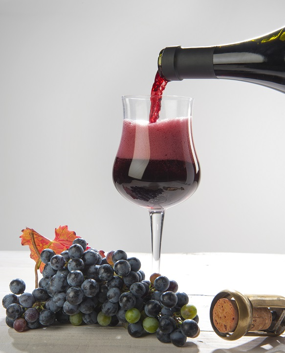 фото игристого вина Ламбруско
