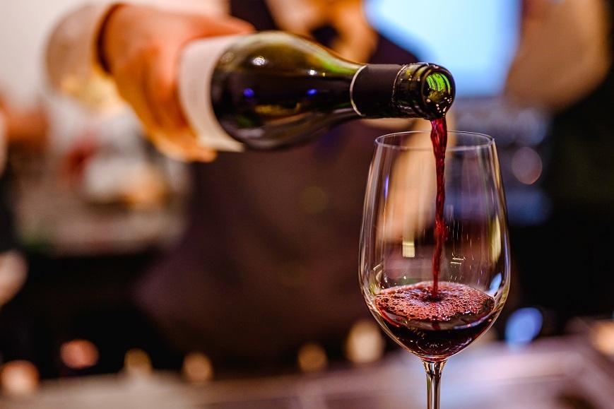 фото калифрнийского вина мерло