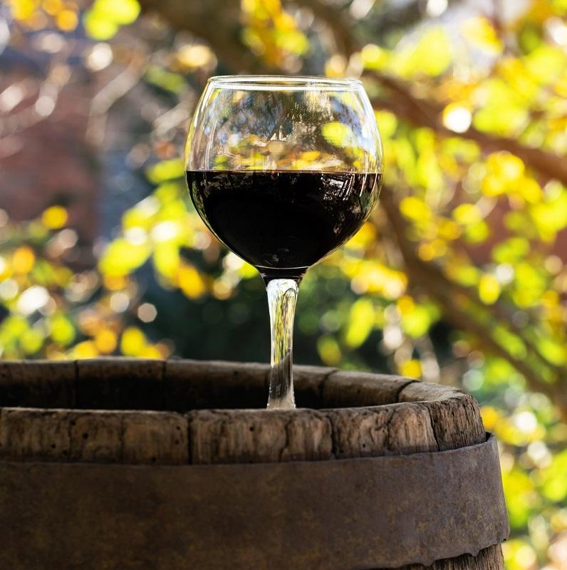 фото красного вина мерло