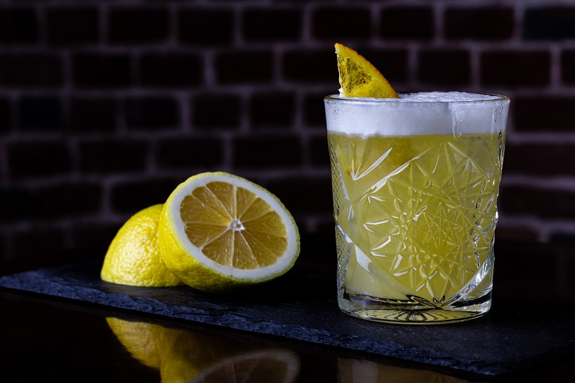 домашний коктейль Виски Сауэр