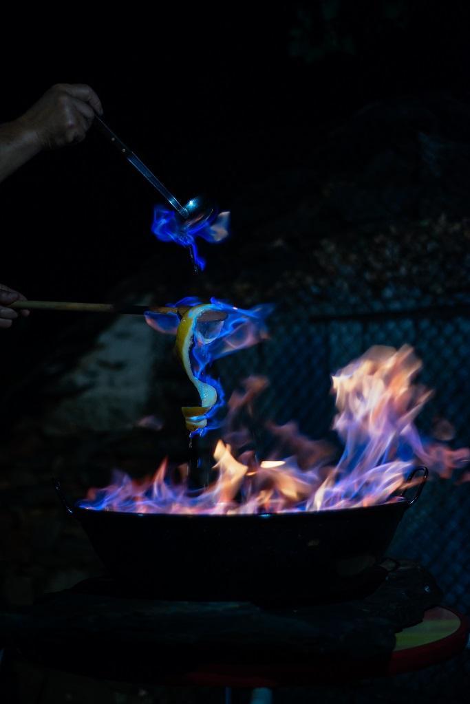 фото процесса приготовления Кеймады
