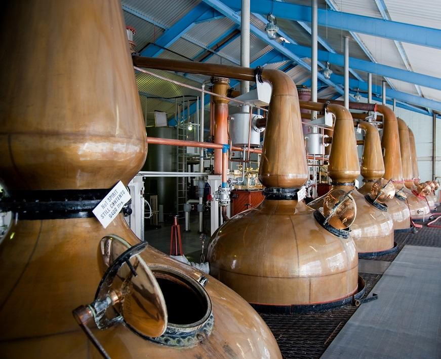 фото производства виски в Шотландии