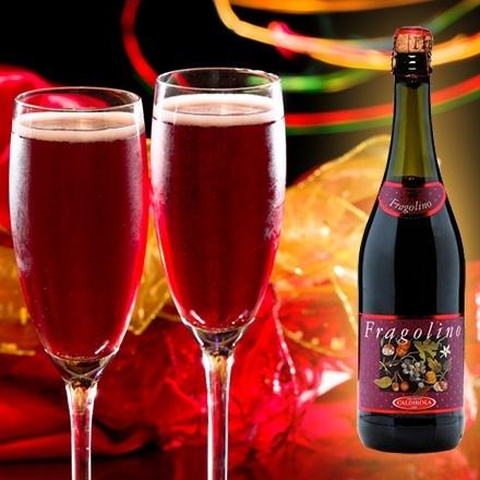 красное шампанское фраголино фото