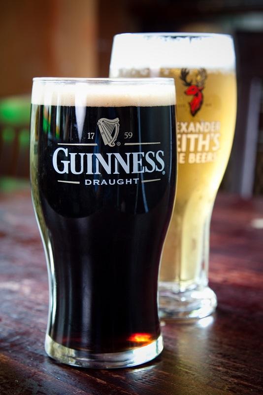 фото пива Гиннес в бокале