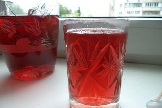 готовое домашнее вино из ревеня фото