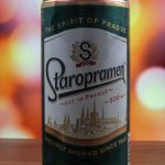 фото этикетки пива Старопрамен