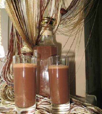 самодельный ликер из какао фото