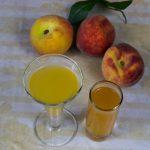 домашние ликеры из персиков