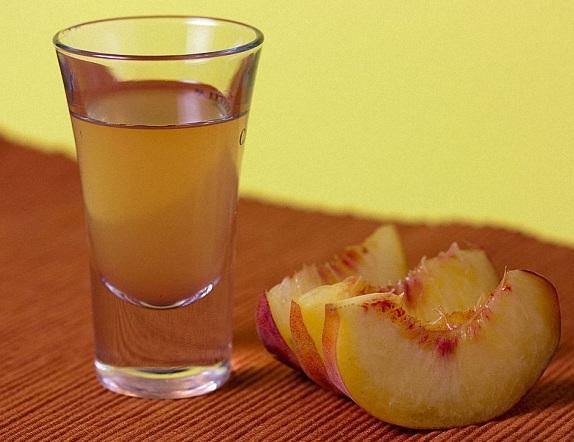 классический персиковый ликер фото