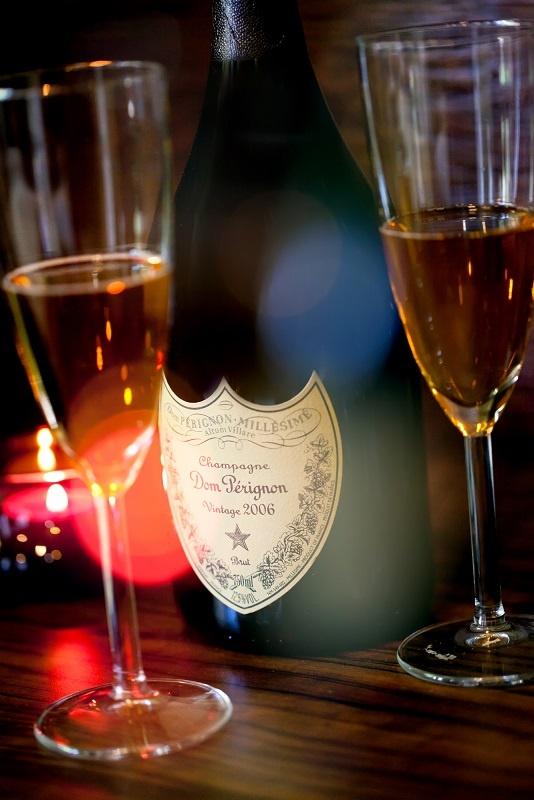фото шампанского кюве Дом Периньон