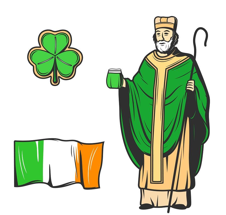 святой Патрик и виски