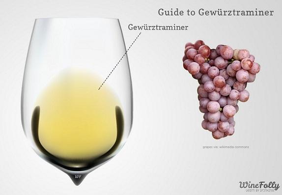 цвет вина Гевюрцтраминер фото