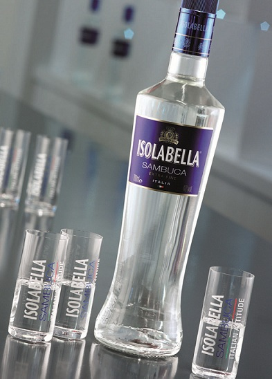 самбука Isolabella фото бутылки