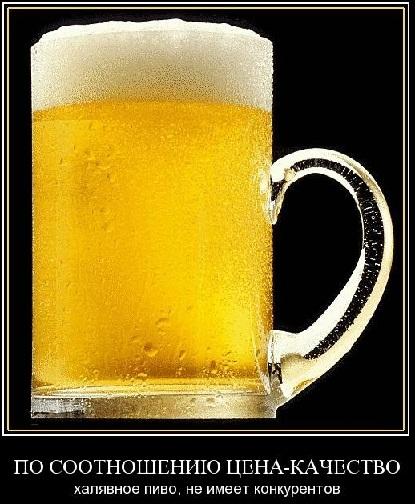 халявное пиво шутка фото