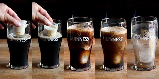 коктейль ирландская глубинная бомба фото