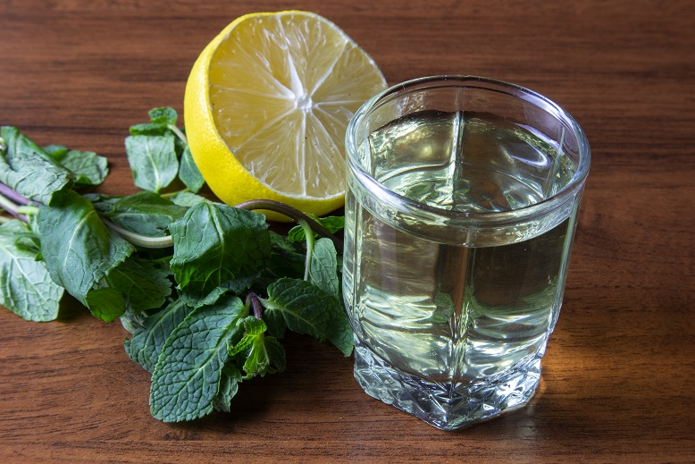 фото лимонно-мятной настойки