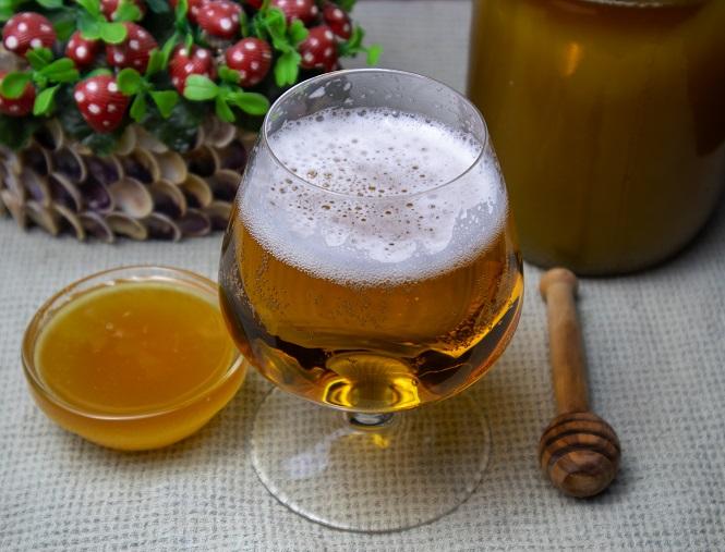 фото домашнего медового пива