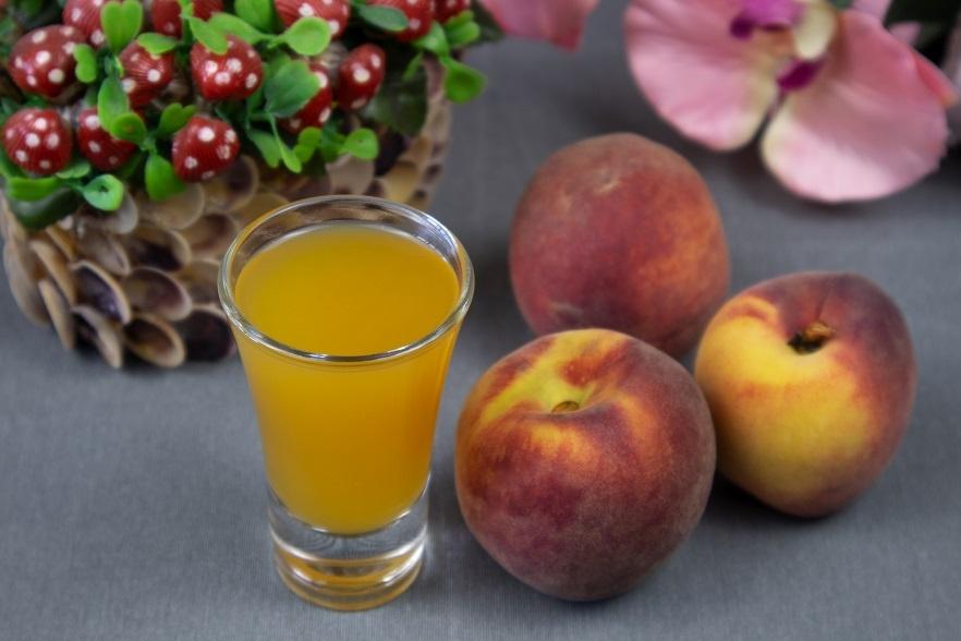 наливка из персиков без водки