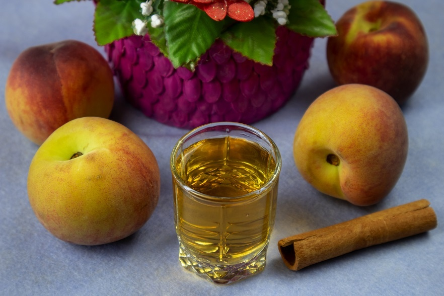 наливка из персиков на водке