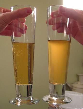 разница между фильтрованным и нефильтрованным пивом по цвету фото
