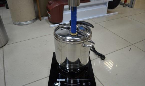 фото самогонного аппарата на индукционной плите