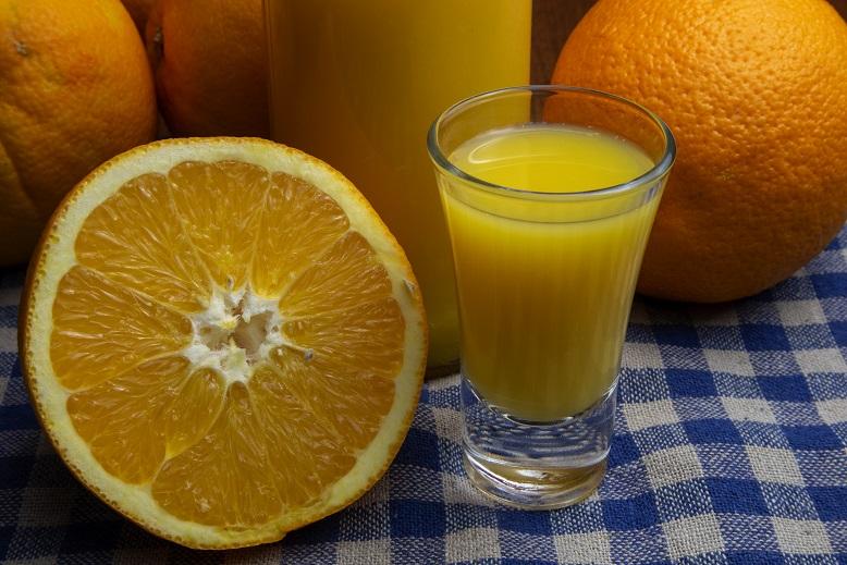 фото классической апельсиновой наливки