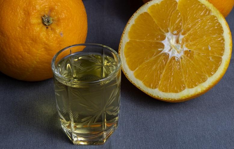 фото простой наливки из апельсинов