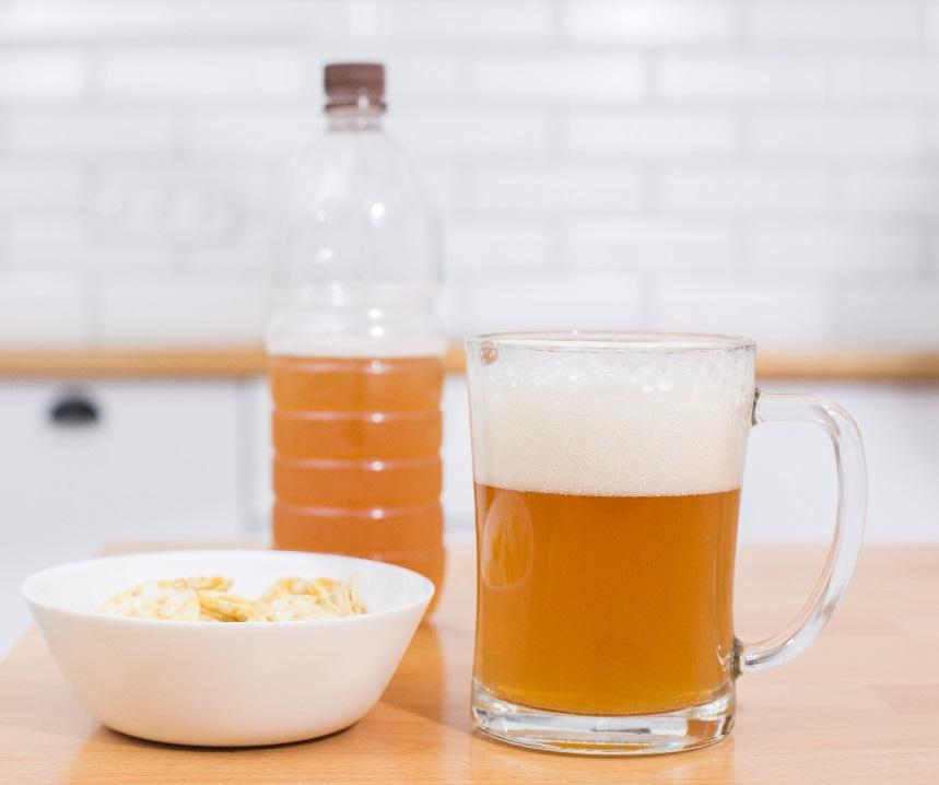 пшеничное пиво из солодового экстракта