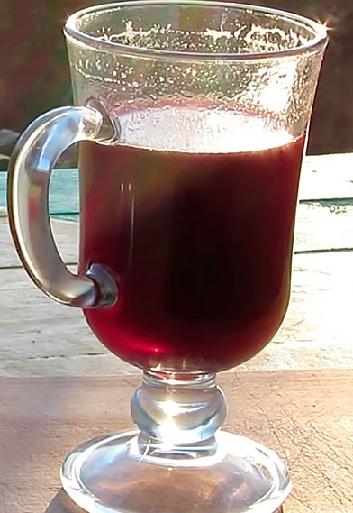 фото глинтвейна из вишневого сока