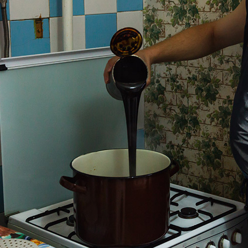 фото внесения пивного концентрата при варке