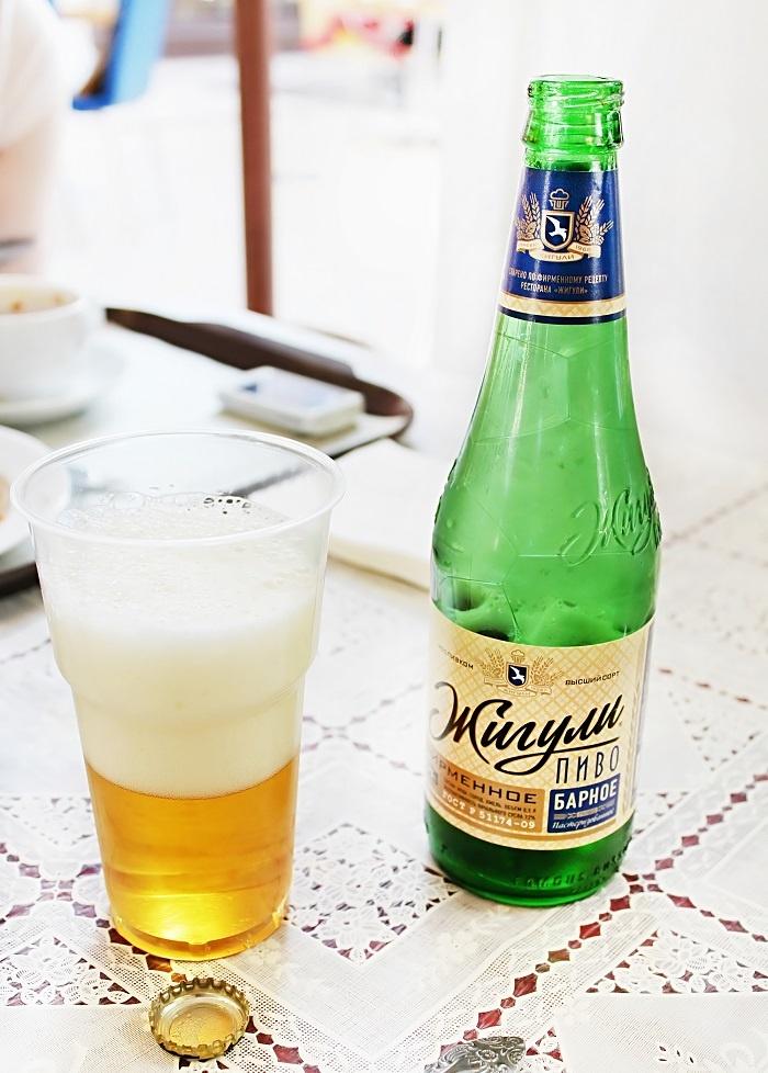 современное жигулевское пиво