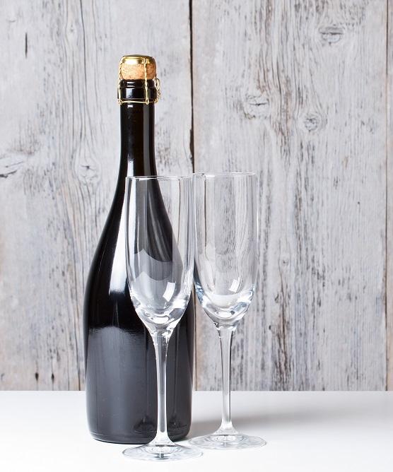 фото бутылки с шампанским