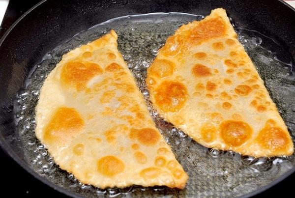 рецепт пошагово с фото чебуреки