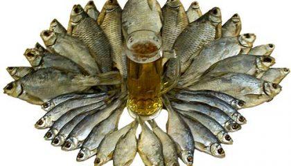 подбор рыбы к пиву