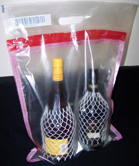 алкоголь в упаковке из Duty Free