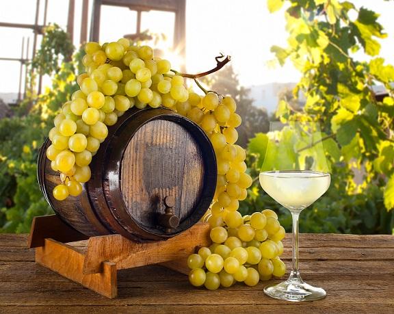 белое вино и давление